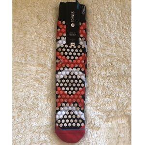 Stance Causal 200 Whiteout 2 FL Sock Size L/XL